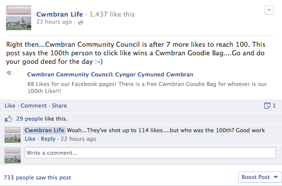 Help Cwmbran Community Council
